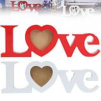 Люблю деревянные рамы картину романтической фото поделки свадебный подарок любовника домой украшение номера