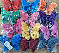 Термонаклейки бабочки 120 шт