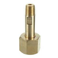 CGA-540 Гайка 3 Ниппель 1/4 NPT цилиндра фитинги Регулятор Впускной бутылки (кислород)
