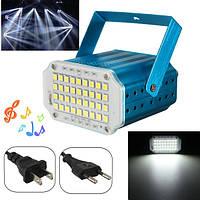 10w белый LED свет этапа строба вспышки проектор для партии клуба диско-бар КТВ