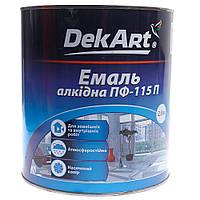 """Эмаль алкидная ПФ-115П ТМ """"DekArt""""2,8кг Уценка DeKart"""