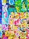Одеяло-покрывало для детей и подростков «Пони Мозаика», Loskutini, фото 4