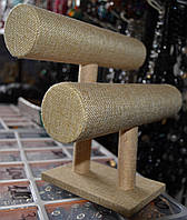 Подставка под браслеты плетенная нить