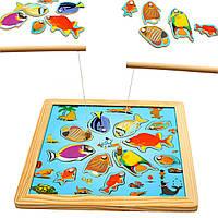 Игрушка стержень рыбалка доска деревянная океан магнитного дети дети IQ игра головоломки ранние образовательные лобзики развития