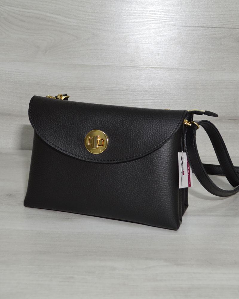 1ae970bbbbda Черная сумка клатч маленькая молодежная на плечо: продажа, цена в ...