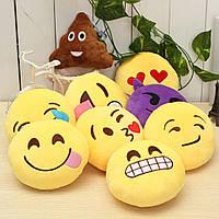 5.9 '' 15см Emoji смайлик смайлик Фаршированные Плюшевые Мягкая игрушка Круглая Подушка Орнамент Декор Подарочные