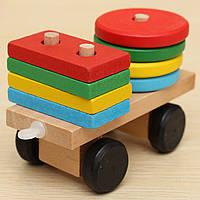Ребенок ребенок поезд деревянные раннее развитие образовательной сочетание формы соответствие игрушки