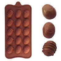 Яйцо пасхальное силикона формы шоколада прессформы выпечки торт льда прессформы Fondant Декорирование Инструмент