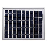 5W 18V поликристаллических солнечных панелей для аккумулятора 12V