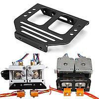 Металлический MK8 Экструдер Держатель шасси для Dual Head 3D Prusa I3 Printer