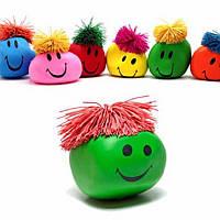 1PC Смешные подарка новизны Креативный Vent человеческого лица Бал Антистрессовая Игрушка мягкая Смешные Отскок Squeeze
