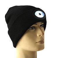 Спорт Бег 6 LED шапочки вязаные Hat Cap Light перезаряжаемые кемпинг взбираясь лампы