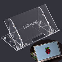 Прозрачный 7-дюймовый корпус ЖК-дисплей кронштейн для Raspberry Pi 7-дюймовый экран