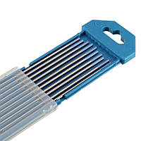 10шт вольфрама WL20 2.0% Lanthanated синий кончик электрода TIG 1/16 дюймов х 7inch