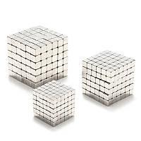 3/4/5 мм 216шт Магнитный Куб шариков магнитные кубики Волшебный квадратный 3D шарик мозайки Игрушечный подарок Декор шар
