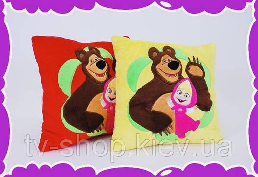 Подушка Маша и медведь