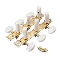 2Pcs акустической гитары струны настройка колышки Клавиши Machine Heads Тюнеры цвет золото