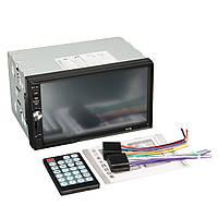 7012B 7-дюймовый вход 2din автомобиль Bluetooth сенсорный экран mp3 mp4 mp5 плеер видео стерео FM AUX