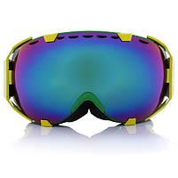 Лыжные очки профессиональных сферических двойной объектив сноуборд мотоцикл мужчины женщины
