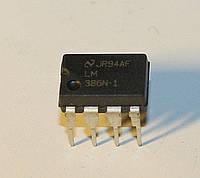 Микросхема  LM386N-1;  (dip8)