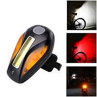 КОЛЕСО UP велосипедов Taillight USB Charge 3 Светлый цвет 5 Режим вспышки велосипед Taillight Открытый Спорт Туризм езда Велоспорт света безопасности