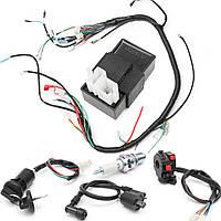 150cc 200cc 250cc Электропроводка Loom соленоид Регулятор CDI для ATV квадроцикл