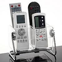 Настольные ясно пульт дистанционного управления телевизора мобильный телефон ящик для хранения организатор стенд держатель прозрачный