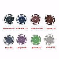 26 шт радиальное щетиной дисковые щеткой ассортименте 80/120/220/320/400/600/1000/2500 грит