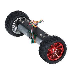JGA25-360 12V 1.25W Два самобалансирующих шасси с металлическим каркасом Умный робот Авто DIY Набор-1TopShop, фото 2