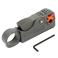 Роторный коаксиальный коаксиальный кабель резец инструмент для зачистки RG58 RG6 RG59 свинца изоляции