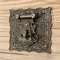 67x58мм ретро старинные защелки деревянный ящик засов замок накладка грудь