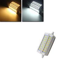 R7s затемняемый 30w 3000LM 118мм 64 СМД 5730 теплый белый/белый LED лампочка AC 85-265V