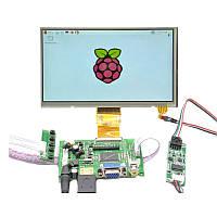 Raspberry Pi 7-дюймовый HD 1024 * 600 сенсорный экран Набор