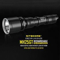 Nitecore MH25GT Xp-l Hi V3 1000LM Аккумуляторный поиск LED Фонарик-1TopShop, фото 2
