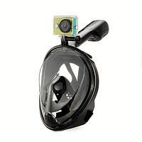 Водонепроницаемый без тумана антишоковая м размер дайвинг маска плавательные очки GoPro герой Xiaomi Yi sjcam