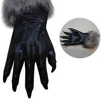 Классический Хэллоуин werewolf Волк Лапы когти косплей перчатки жуткий ужас дьявола костюм партии