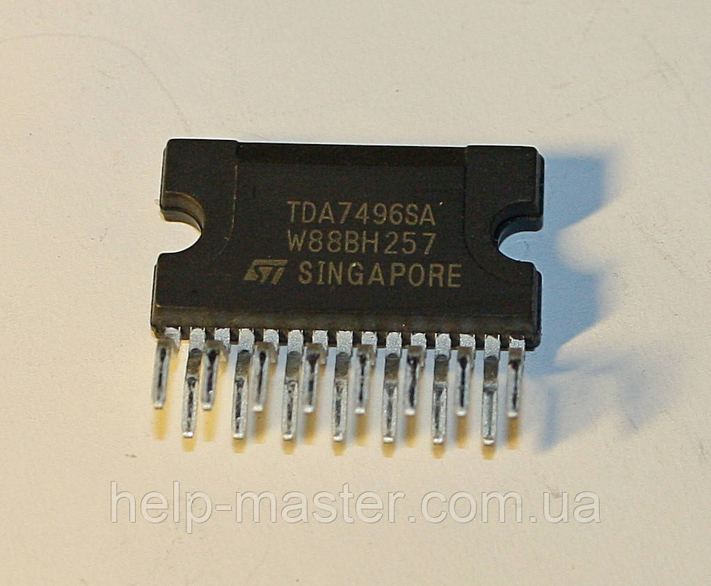 Микросхема TDA7496SA;  (CLIPWATT11)