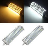 DIMMABLE R7s 15w 78 СМД 2835 LED чистый белый теплый белый свет заменить галогенные лампы кукурузы AC85-265V