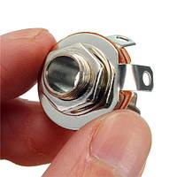 6.35 моно розетка аудио разъем для микрофона держателя панели разъем гнезда