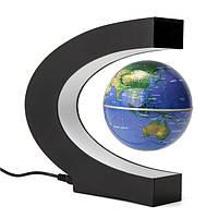 100-240В магнитной левитации с плавающей глобус карта вращение электронного LED мы подключить настольный компьютер