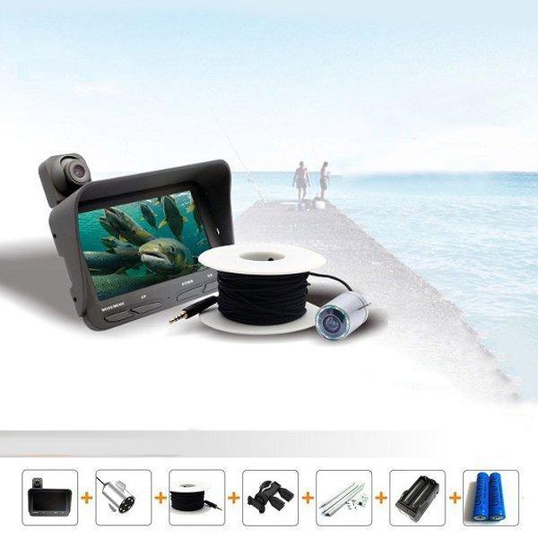 LCD Монитор Ночной вид Fish Finder Видеорегистратор Видео под водой Рыбалка камера - ➊TopShop ➠ Товары из Китая с бесплатной доставкой в Украину! в Днепре