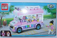 """Конструктор для девочек BRICK """"Машина-мороженое"""", 212 деталей"""