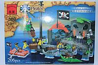Конструктор Brick Пираты, 196 деталей