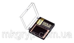 Ресницы B 0.03 (6 рядов: 6 мм) Gold Standart