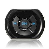Беспроводная связь Bluetooth 3.5 мм AUX аудио стерео музыкальный динамик адаптер приемник микрофон автомобиля