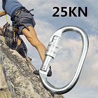 25kN карабин пряжки горный clambing блокировки безопасный быстрый инструмент уплотнительное кольцо