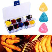 100шт акустической гитары кирки медиатора с подборщика коробкой