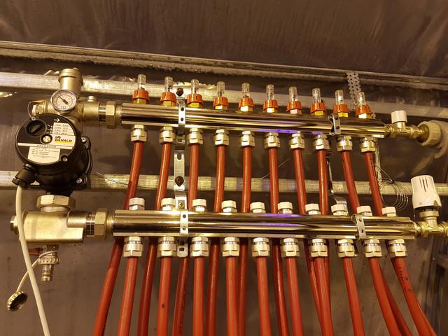 автоматическое отопление теплицы