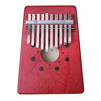 10 ключ палец Mbira калимба likembe африканского пальца карман фортепиано