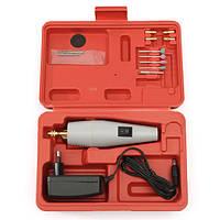 220v DC/AC мини электродрель поделки рука электрический шлифовальный станок комплект с адаптером питания